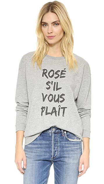 South Parade Rose S'il Vous Plait Sweatshirt