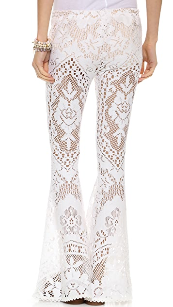 Spell and the Gypsy Collective White Doce Vintage Lace Bottoms