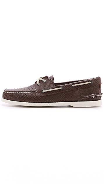 Sperry Python Boat Shoes