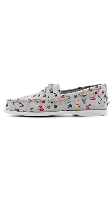 Sperry Sperry x Gray Malin A/O 2-Eye Boat Shoes