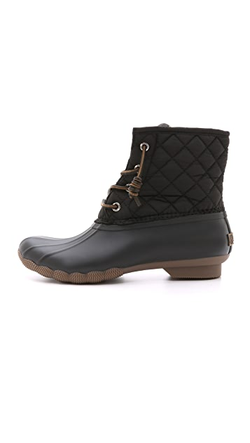 Sperry Saltwater Quilted Booties