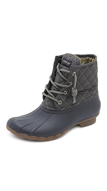 Sperry Saltwater Quilted Boots