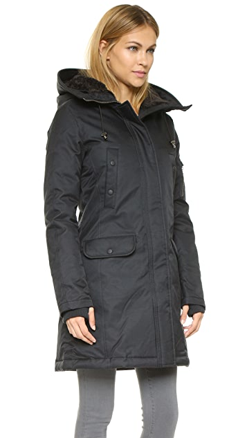 Spiewak N3 B Fox Fur Trim Parka