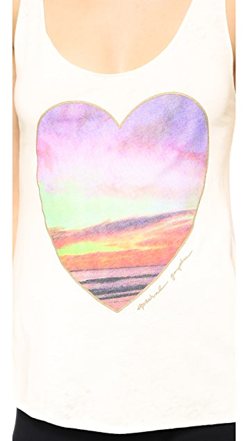 Spiritual Gangster Sunrise Heart Tank