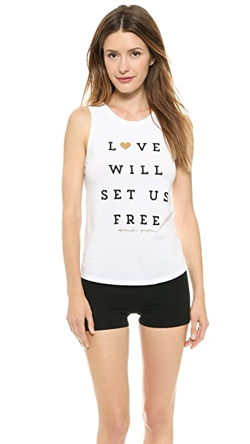 Spiritual Gangster Love Will Set Us Free Tank