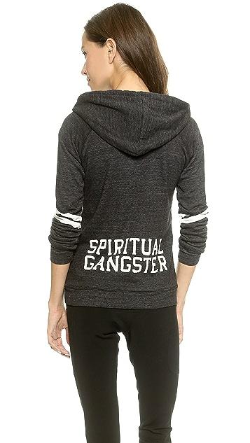 Spiritual Gangster Arch Zip Hoodie
