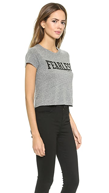 Spiritual Gangster Fearless Crop Top