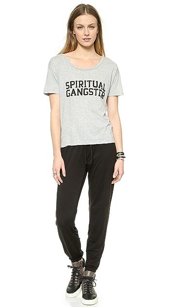 Spiritual Gangster Spiritual Gangster Varsity Tee