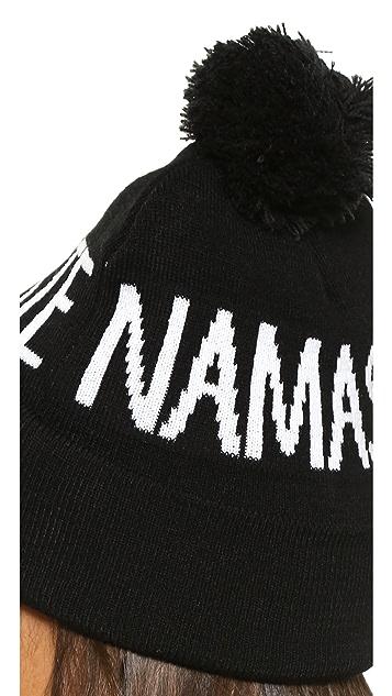 Spiritual Gangster Namaste Pom Beanie