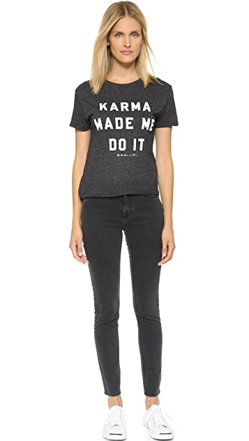Spiritual Gangster Karma Made Me Do It Tee