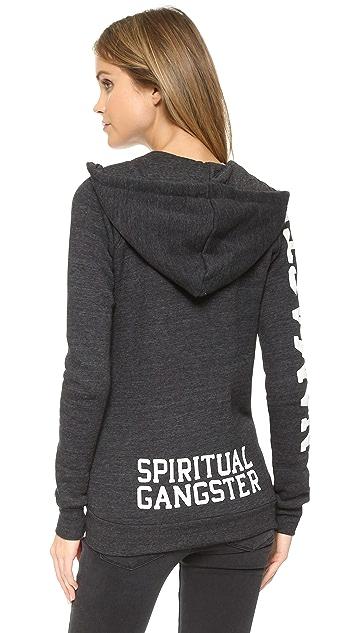 Spiritual Gangster Namaste Zip Hoodie