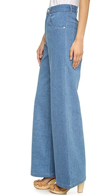 Samantha Pleet The Port High Rise Wide Leg Jeans