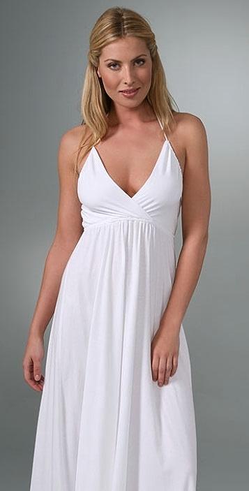 Splendid Modal V Neck Dress