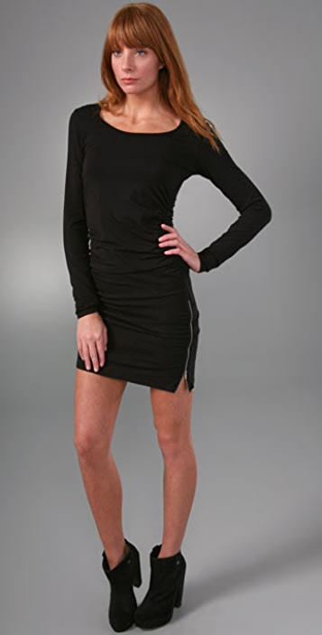 Splendid Modal Jersey Long Sleeve Dress