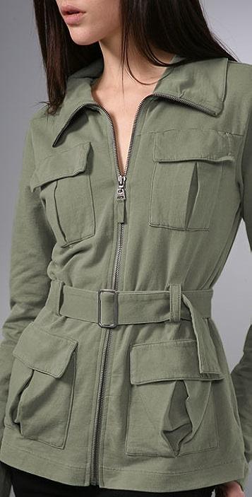 Splendid Vintage Fleece Pocket Jacket