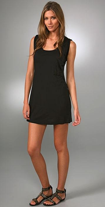 Splendid T Shirt Pocket Dress