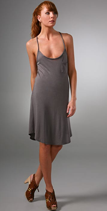 Splendid Pocket T Shirt Dress