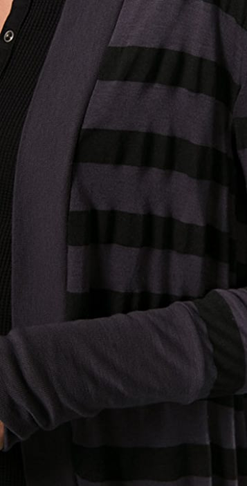 Splendid Rugby Stripe Cardigan