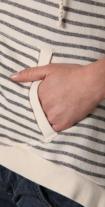 Splendid Nautical Stripe Active Hoodie
