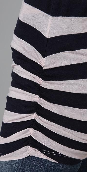 Splendid Mixed Rugby Stripe Tunic