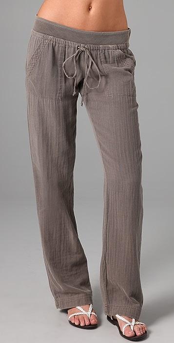 afab02d23d8 Splendid Vintage Double Gauze Pants