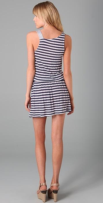 Splendid Mini Rugby Stripe Dress