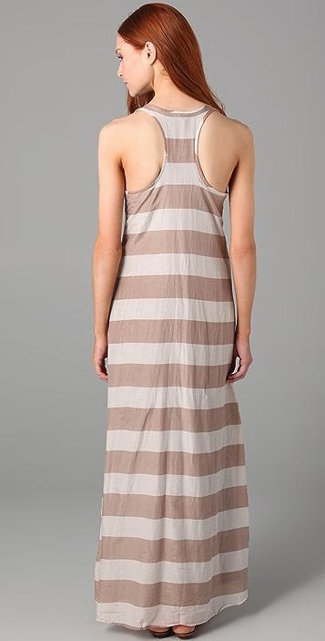 Splendid Wide Rugby Stripe Maxi Dress