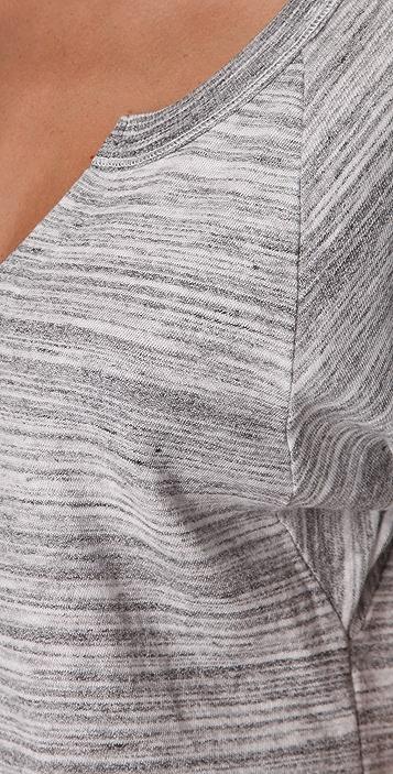 Splendid Charcoal Space Dye Top