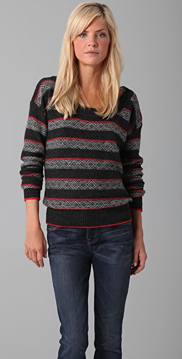 Splendid Fair Isle Sweater