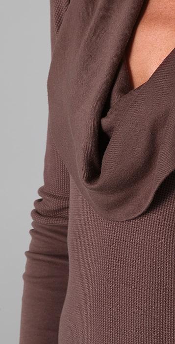 Splendid Cowl Neck Thermal Top