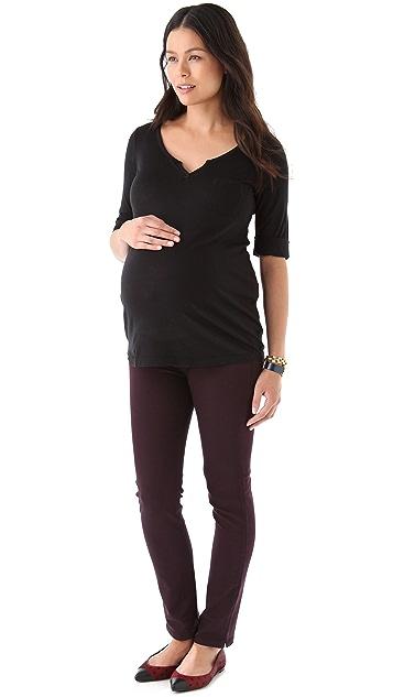 Splendid Maternity Fit Henley Top