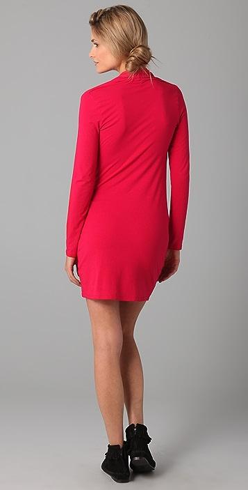 Splendid Cowl Mini Dress