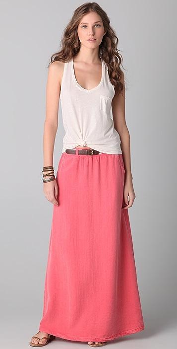 Splendid Palm Desert Maxi Skirt
