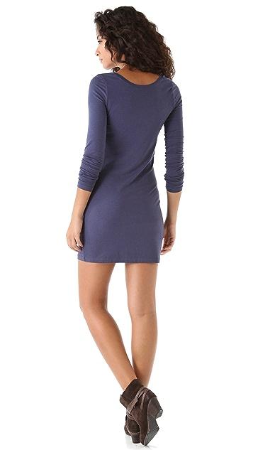 Splendid Long Sleeve Mini Dress