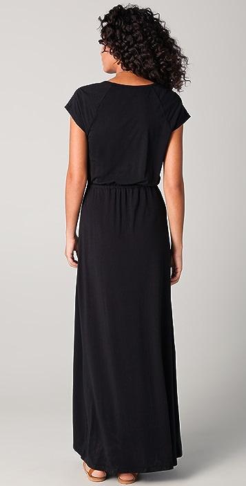 Splendid Solid Maxi Dress