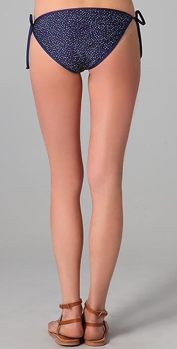 Splendid Confetti Dot Tie Side Bikini Bottoms