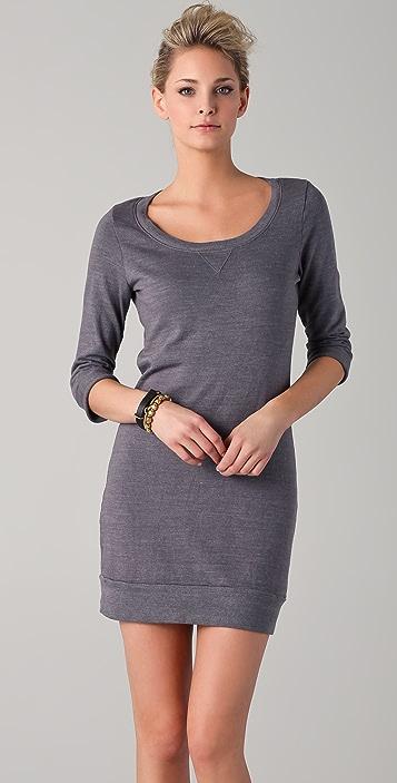 Splendid Active Always Sweatshirt Mini Dress