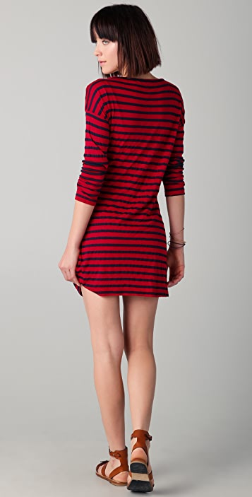Splendid Stripe Mini Dress