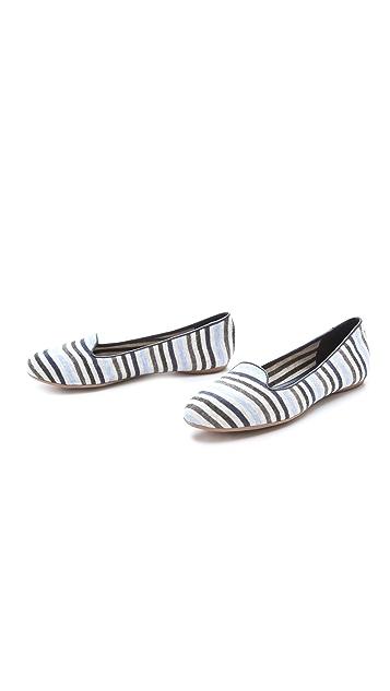 Splendid Cannes Striped Smoking Shoe