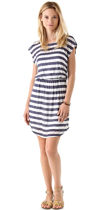 Splendid Rugby Stripe Dress