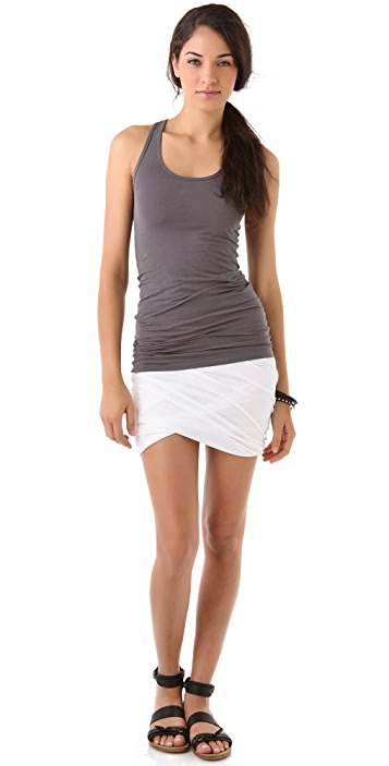 Splendid Long Racer Tank Top