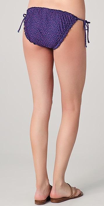 Splendid Leila Ruffle Bikini Bottoms