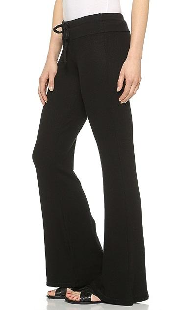 Splendid Thermal Drawstring Pants