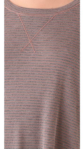 Splendid Mini Stripe Thermal Top
