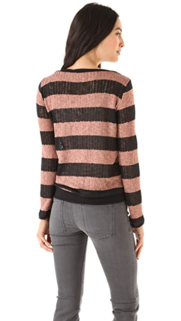 Splendid Bristol Striped Sweater
