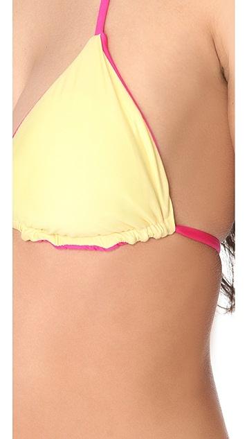 Splendid Bayside Solids Bikini Top