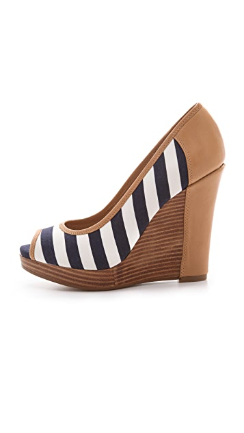 Splendid Beverly Peep Toe Wedges