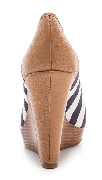 Splendid Beverly Peep Toe Wedges