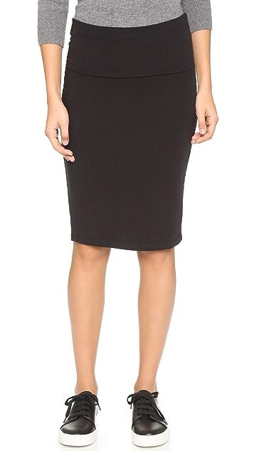 24ab09347c Splendid Fold Over Pencil Skirt | SHOPBOP