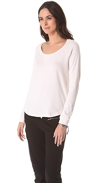 Splendid Heather Fleece Pullover